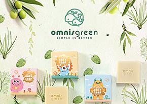 歐米綠。天然手工皂