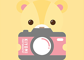 Ki呦咪親子影像館Logo設計-台中Logo設計公司推薦