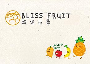 踩進市集。優質水果品牌形象規劃-台中Logo設計公司推薦