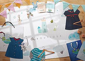 JA精品服飾品牌形象設計-Logo設計推薦