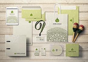 中華開心慈善協會Vi識別系統設計-台中Logo設計推薦