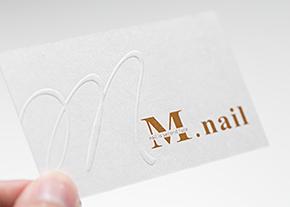 M.nail名片設計-台中名片設計推薦