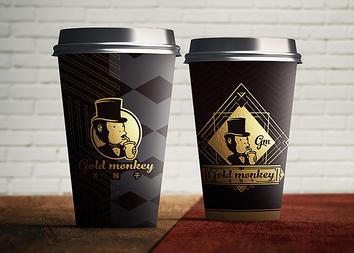 金猴子。GoldMonkeyLogo設計-台中Logo設計公司推薦